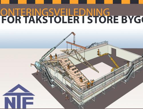 Monteringsveiledning for takstoler i store bygg